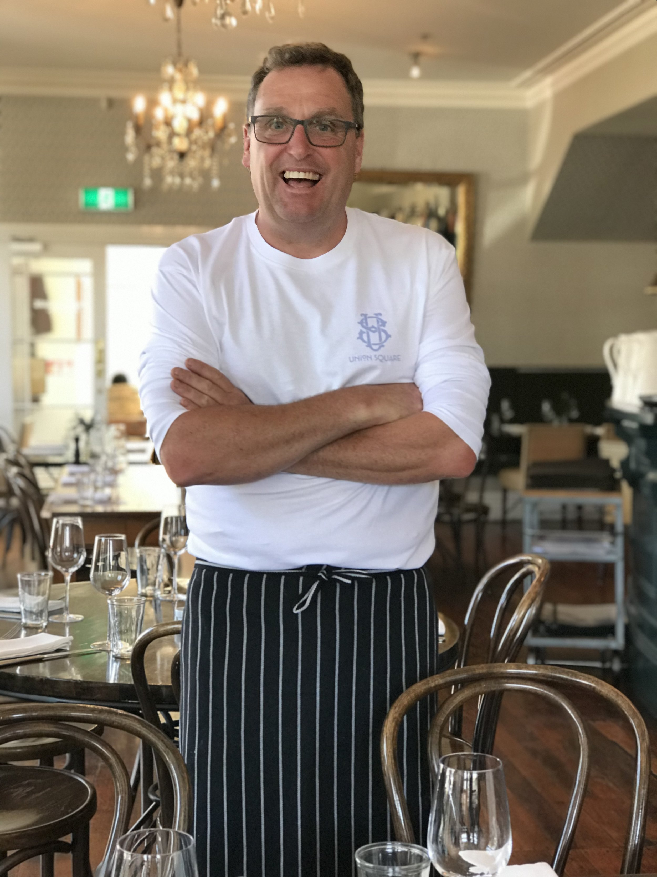 Chef Adam Newell (image by Jacqui Gibson).