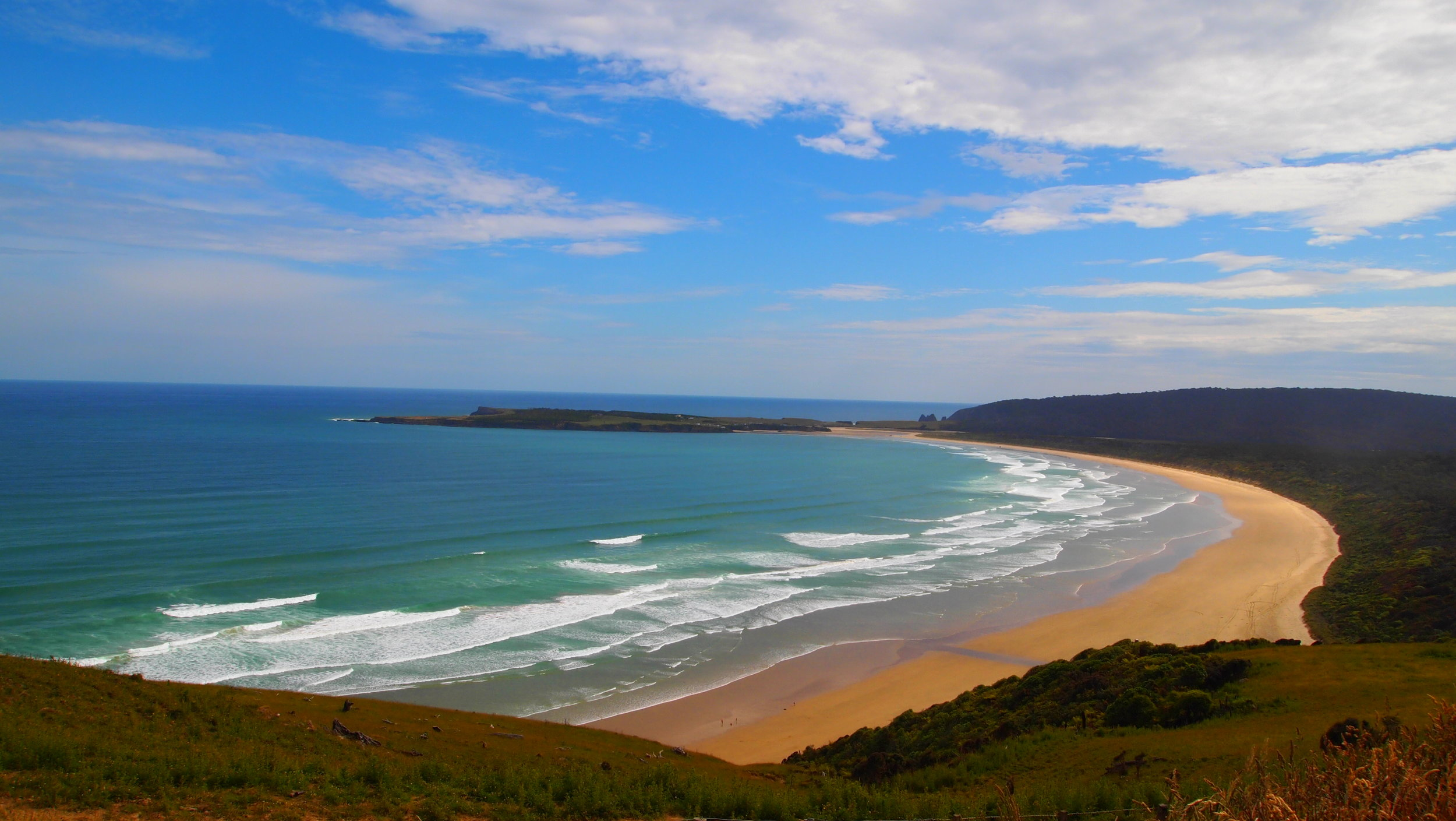 Coastal drive to The Catlins, New Zealand (image by Jacqui Gibson).