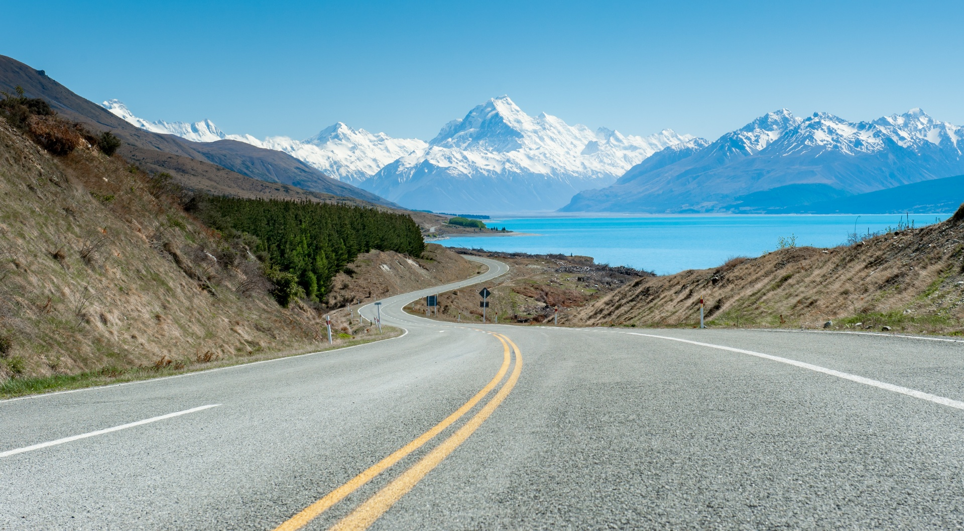 Mt Cook, New Zealand (image care of Tourism New Zealand).
