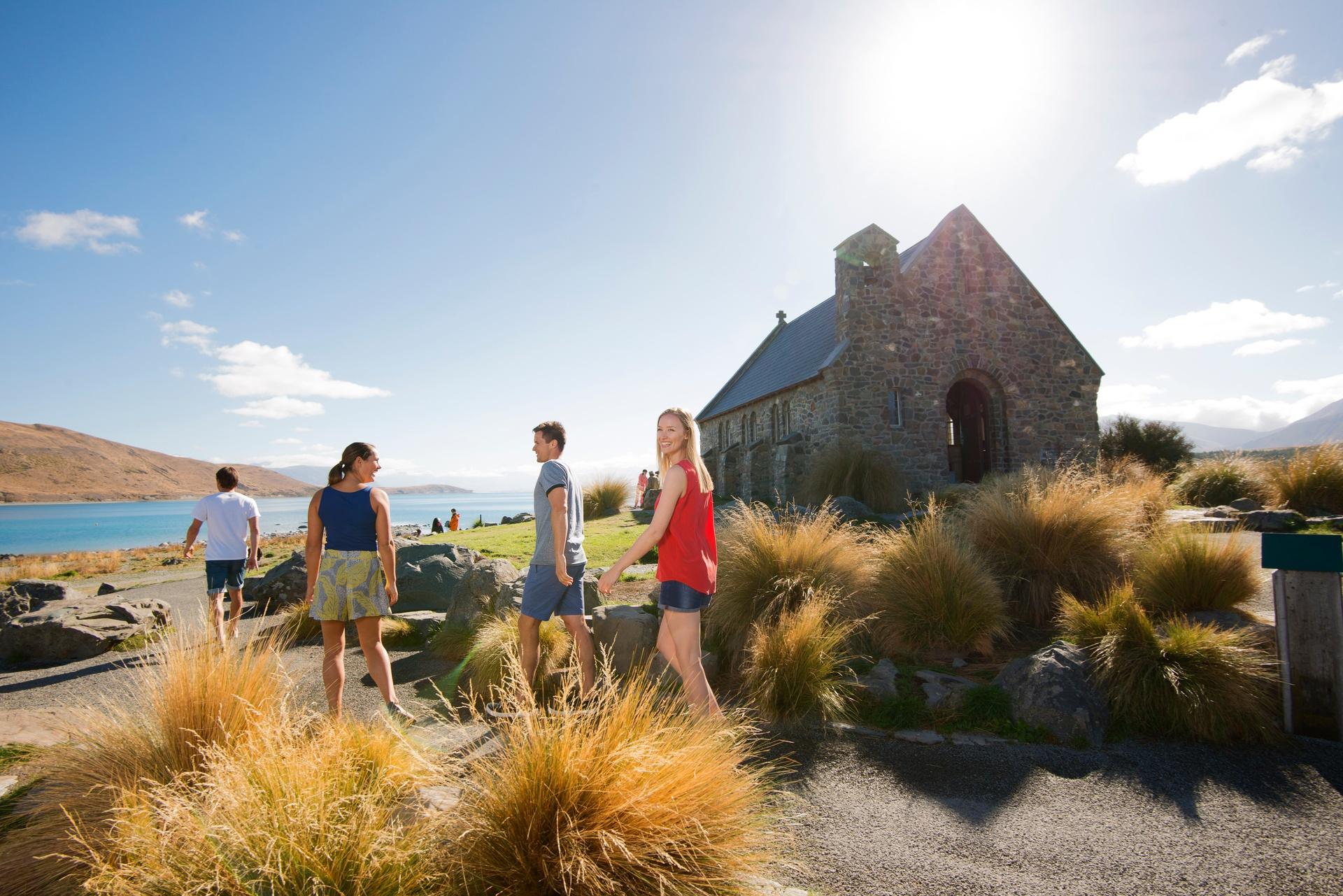 The Church of the Good Shepherd, Lake Tekapō (image care of Tourism New Zealand).