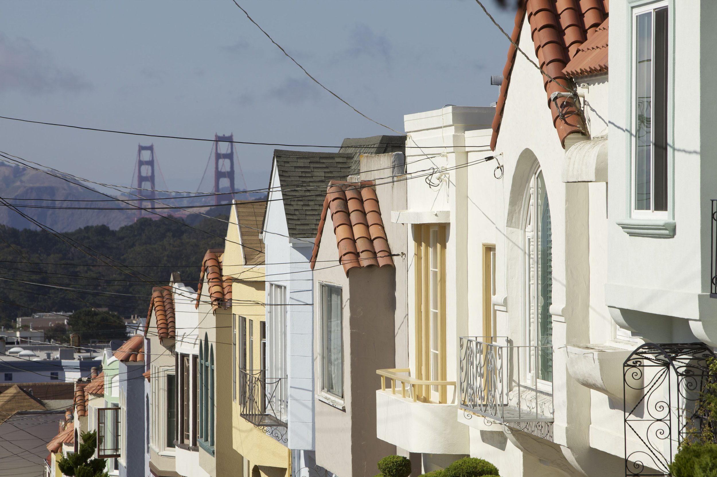 San Francisco neighbourhoods (image care of San Francisco Travel).