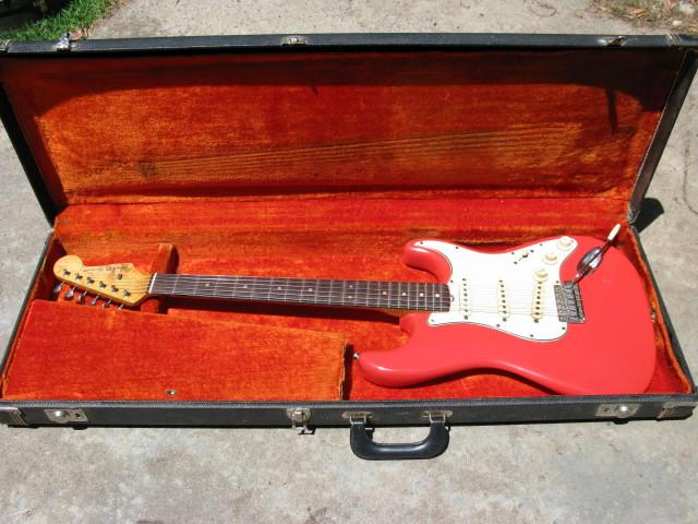 Fender L Series Strat Fiesta Red