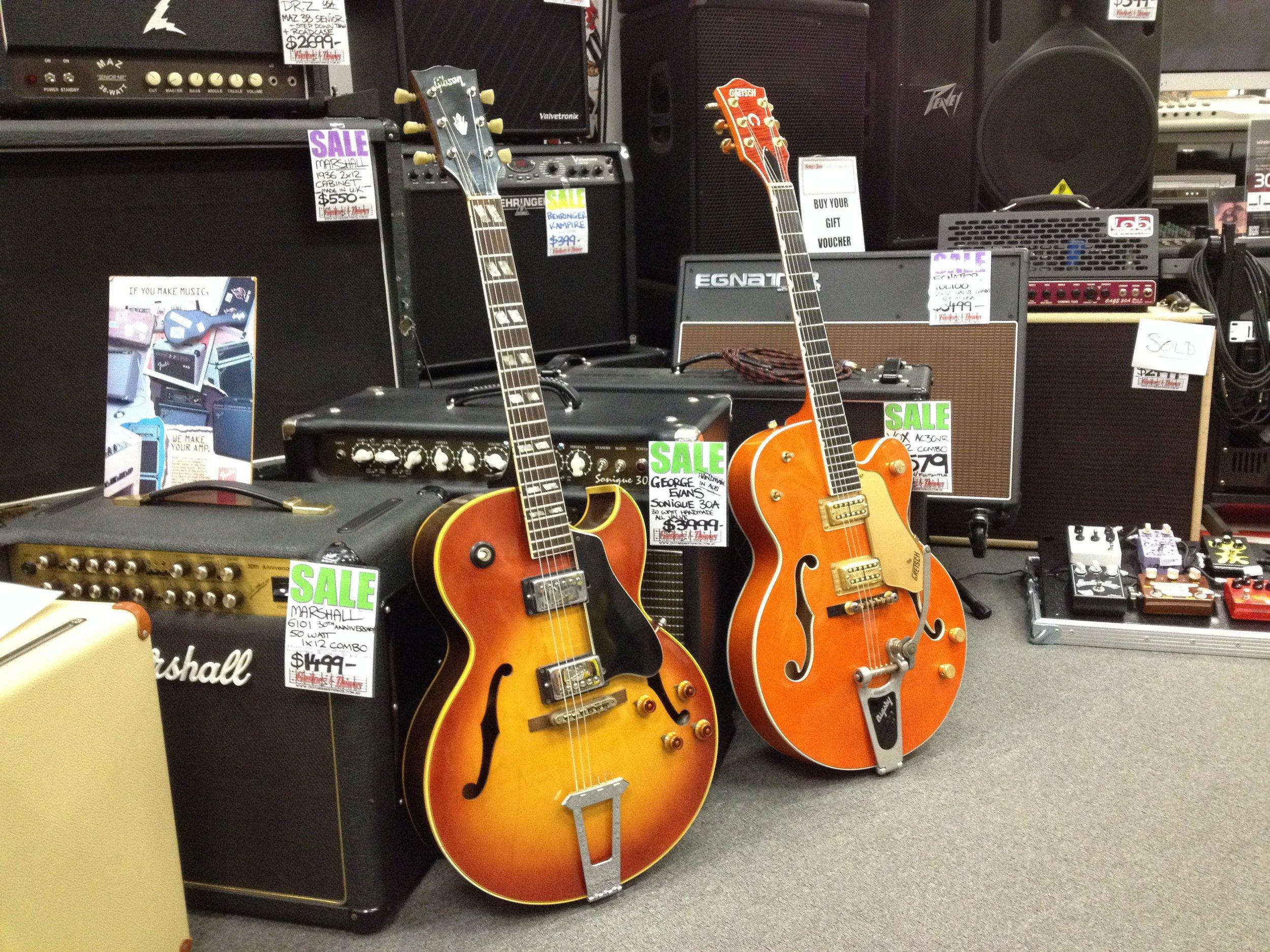 1972 Gibson ES 175 – Gretsch 6120