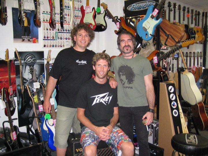 Rob, Rick and Jack Jones