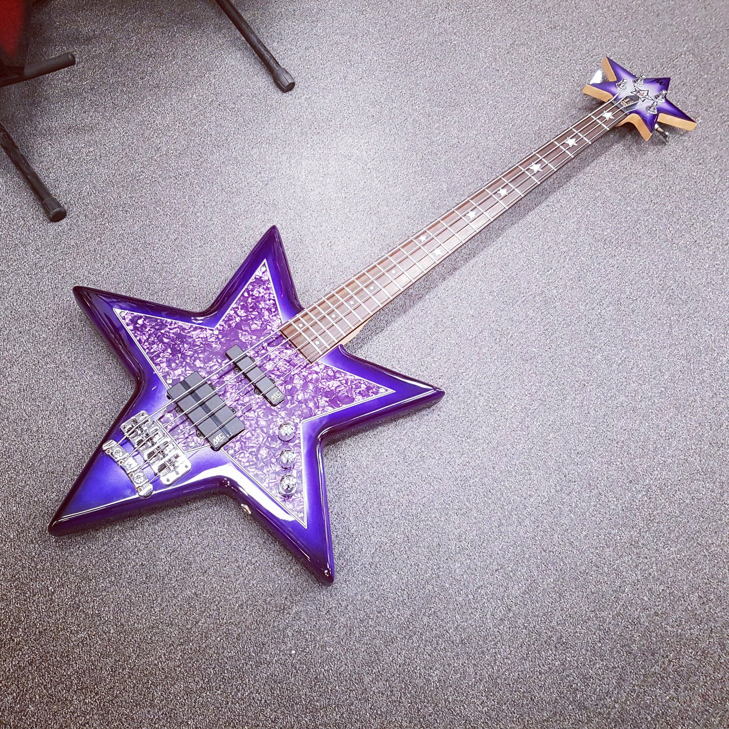 Bootsy Collins Warwick SpaceBass