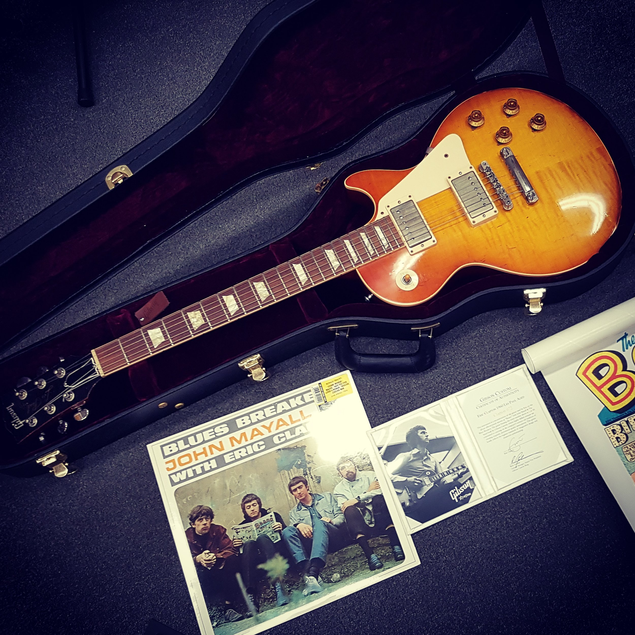 Limited Edition Gibson Custom Shop Eric Clapton 1960 LP #72 of 95