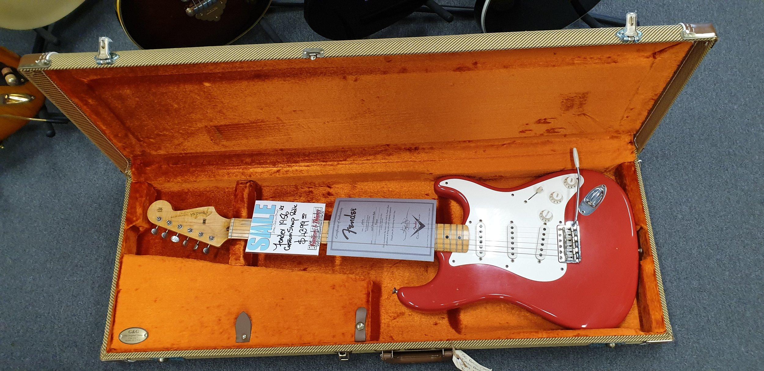 Fender '56 Reissue Relic Strat Fiesta Red