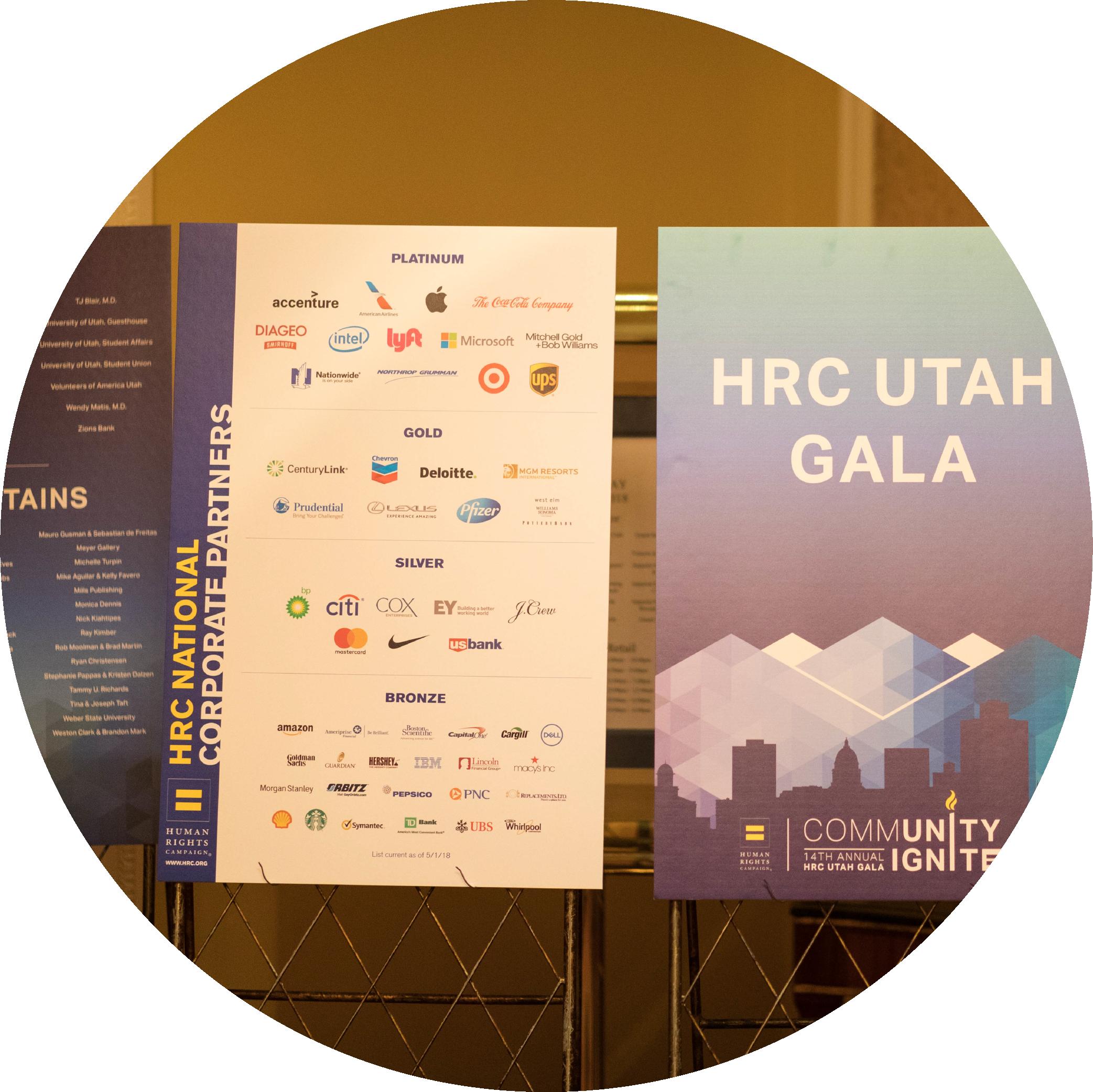 Sponsor HRC Utah -