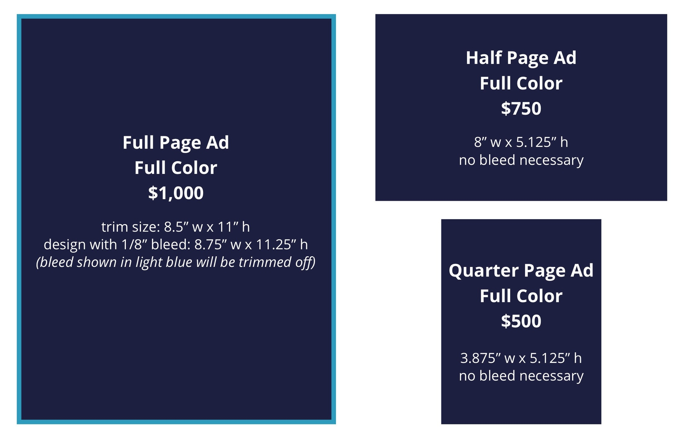 2019 HRC Utah Dinner Program Book Ad Requirements