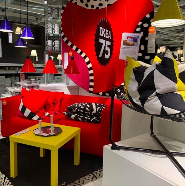 Ikea celebrates their 75th birthday in 2018