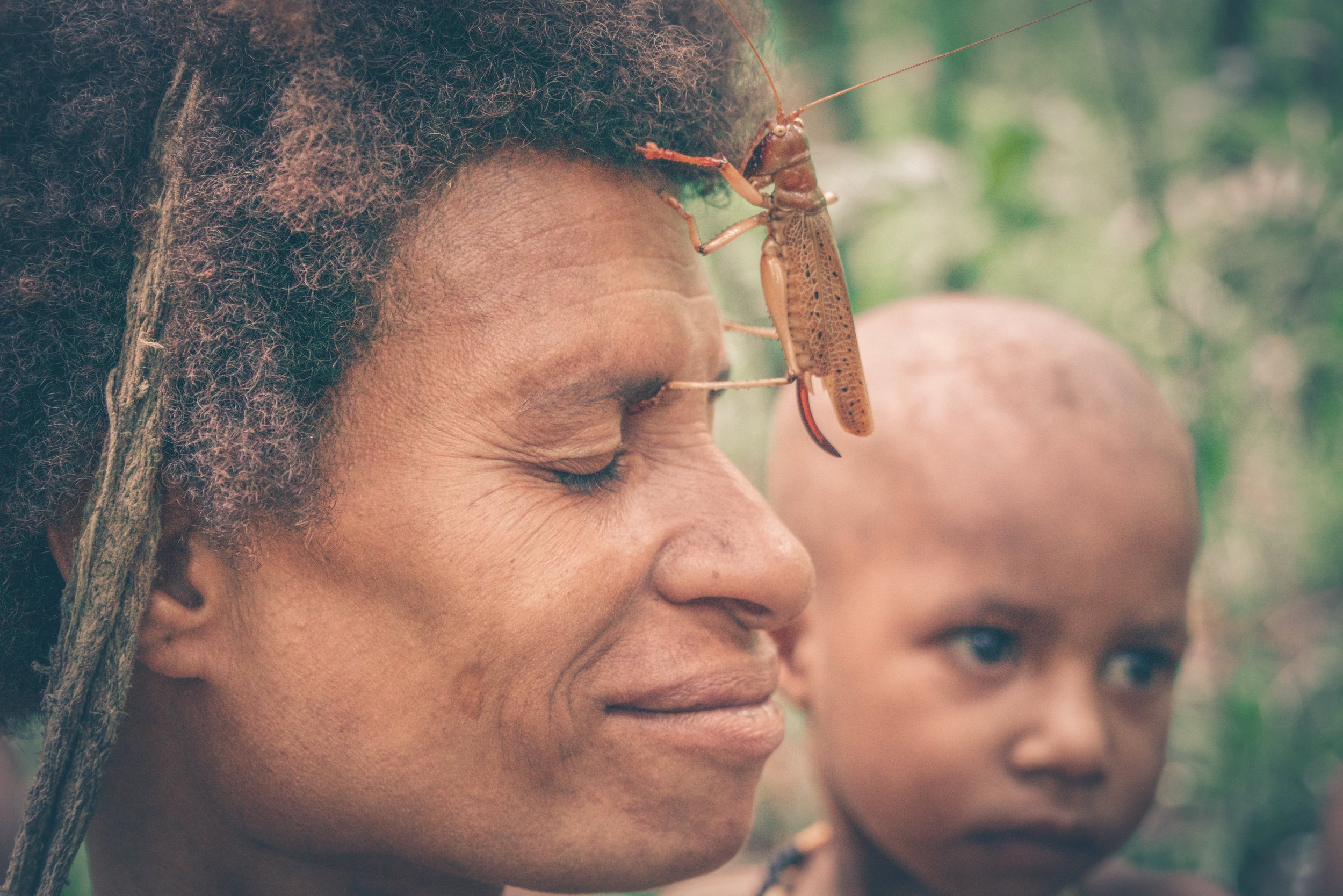 The Korowai - One of the few remaining cannibalistic tribes on Earth in Papua Province, New GuineaJuly 2018