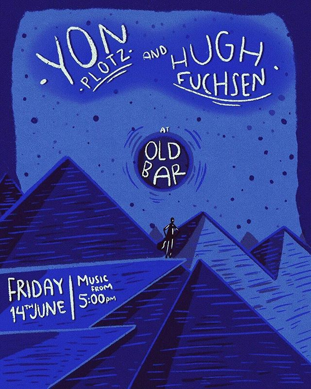 Playing a special stripped back show with my fav @hughfuchsen at @theoldbar 14/06 and it's oh so free. Welcome the weekend with us from 5pm ☀️☀️ 🎨 @nea.au . . . #fitzroy #june #collingwood #brunswick #melbournegigs #weekend #party #sunshine #parties #whatsonmelbourne #cute #art #rocknroll
