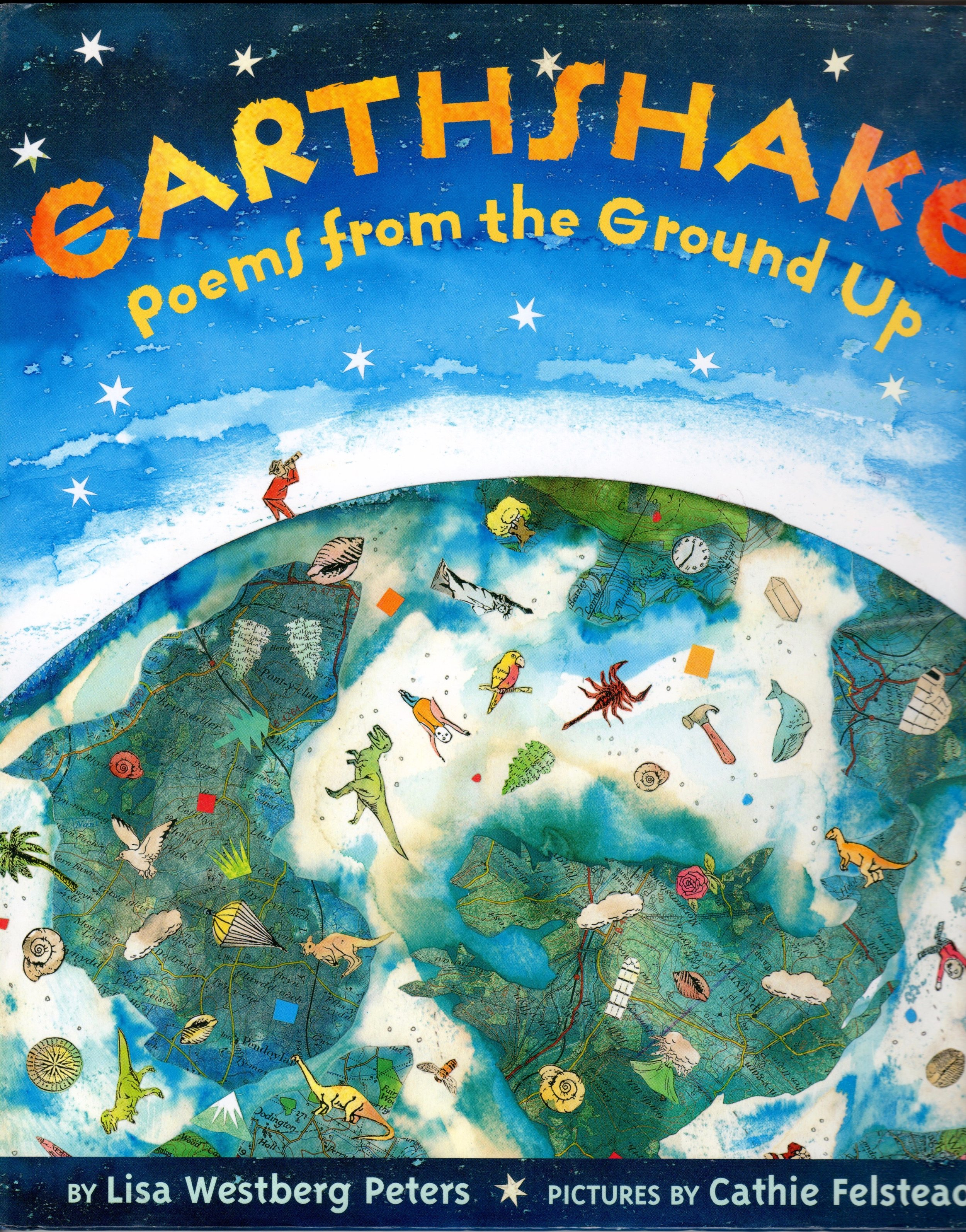 Earthshake: Poems from the Ground Up - Level: Third grade and upNorth Carolina Junior Books Award Activities, plus Writing, Science and Art Class Activities