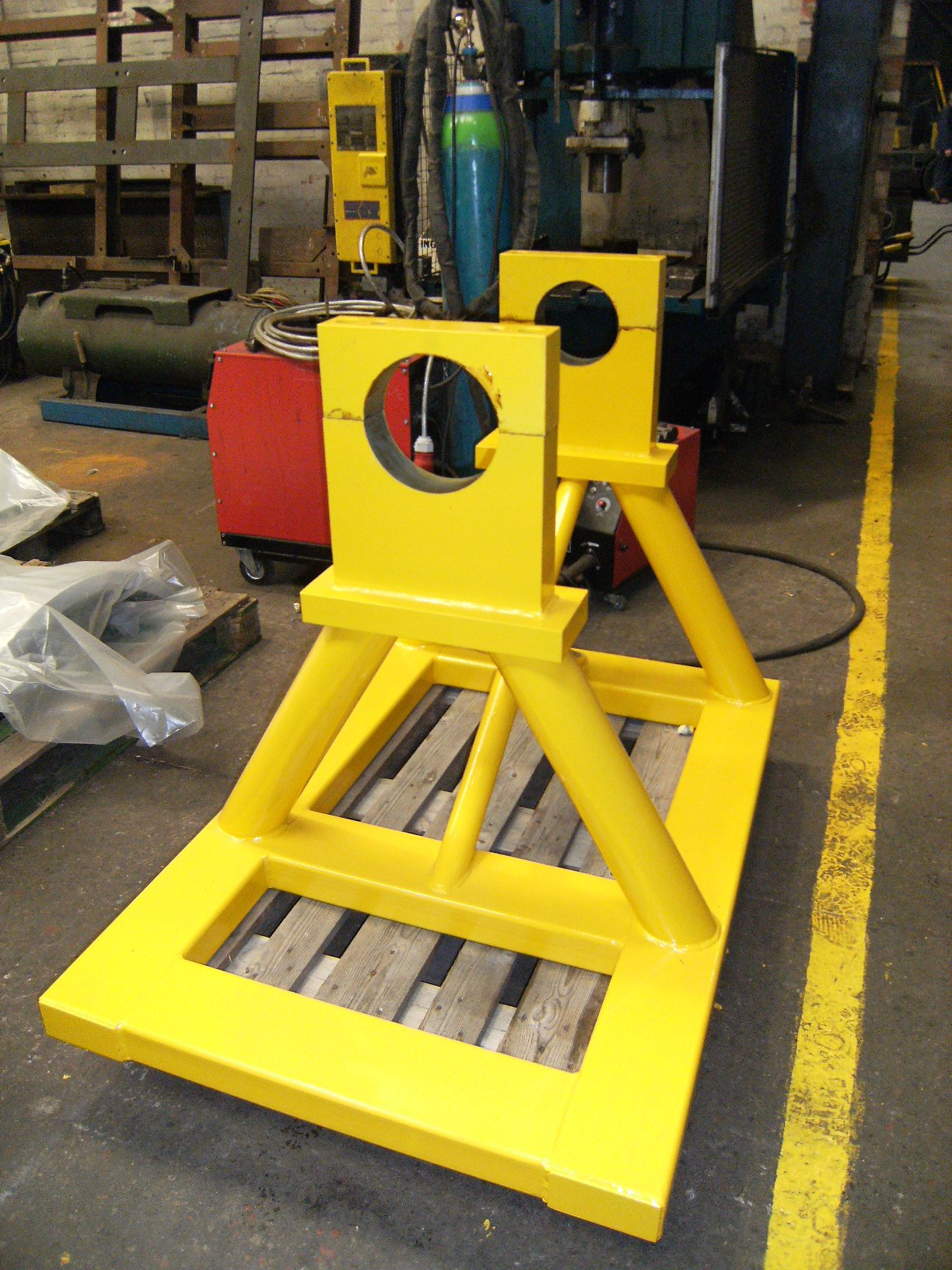 Rotor Support Stand