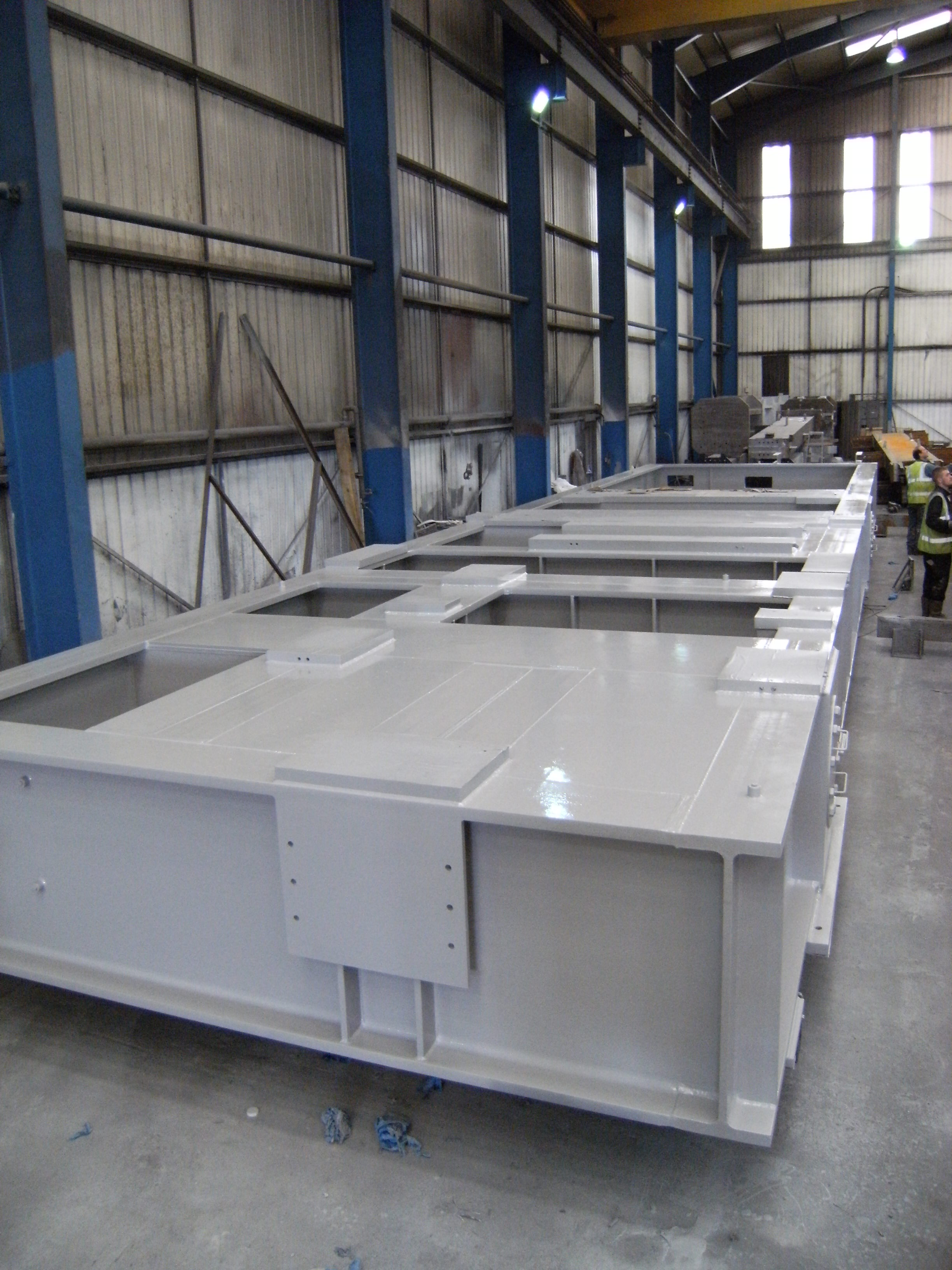 Painted 63 Tonne Offshore Skid