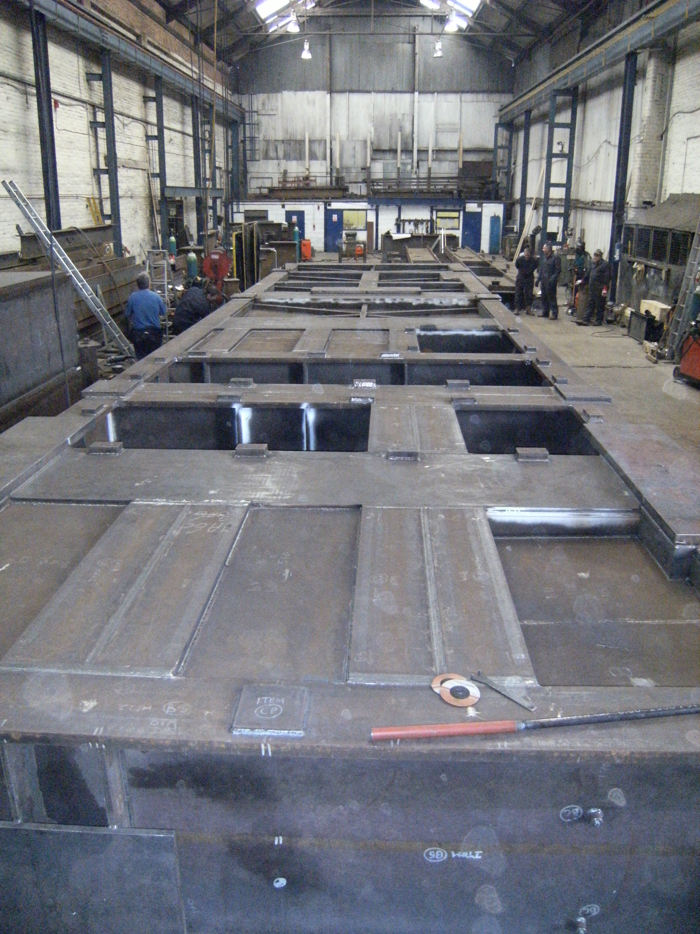 Offshore 64 tonne generator base