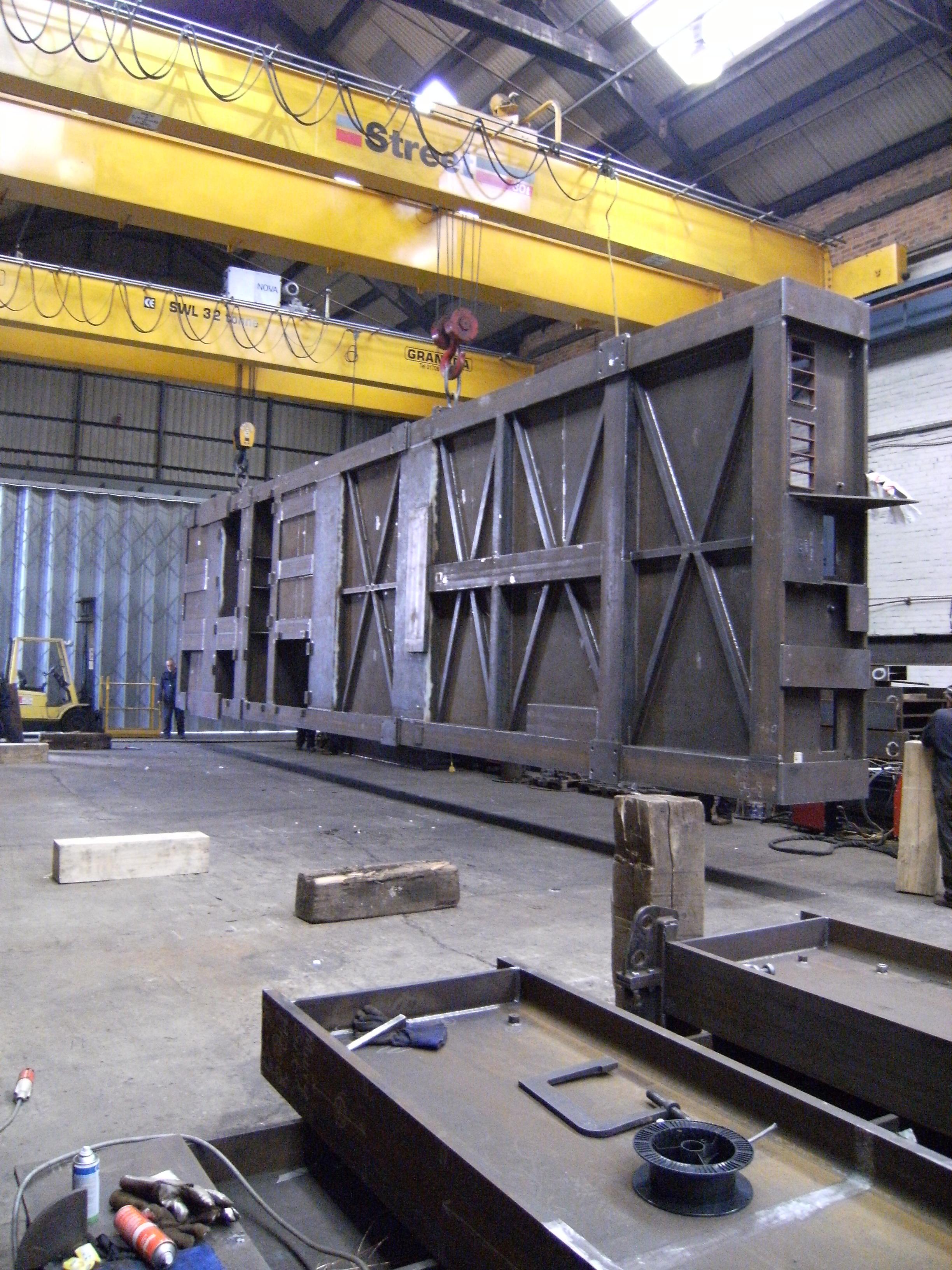 64 tonne generator baseplate