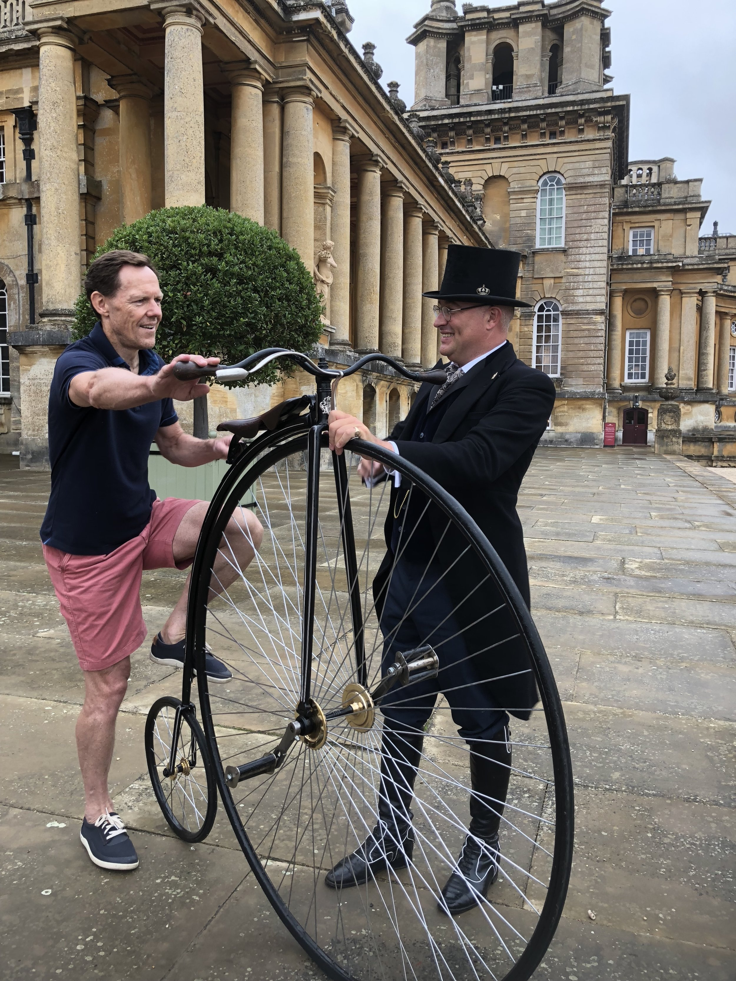 ULTIMATELY FUN - Ultimately the whole experience is about fun through learning. With the Engagement service, we have plenty of educational excitement, demonstrational thrills and memorable moments that are unique to many events!You don't get the opportunity to mount a Penny Farthing everyday (if ever), and so for all that do we give a smal certificate to take home.Both Adults and Children (with Parents Help) are encouraged to sit up high!.. for many this will be a chance of a lifetime - for Mr Phoebus, it's what we do, and we like to show we do it well.