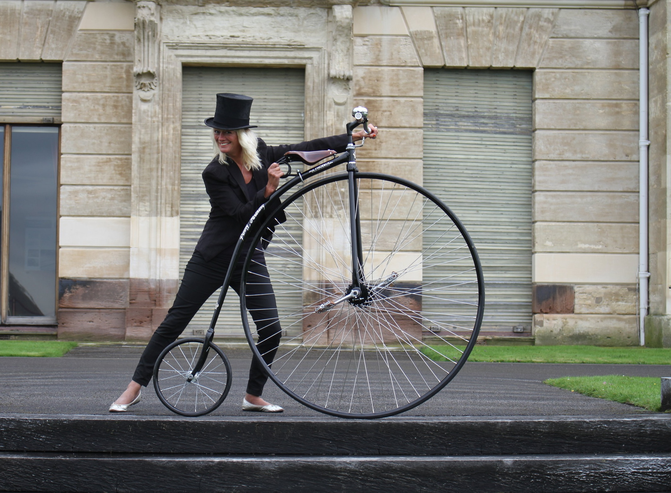 ultimate victorian prop required? - We are ready to talk about your production needs and requirements, with expertise our services are just a few clicks away.What is more iconic than a Victorian Bicycle that towers above the crowds in the background of any period landscape shot!Please get in touch with our team.