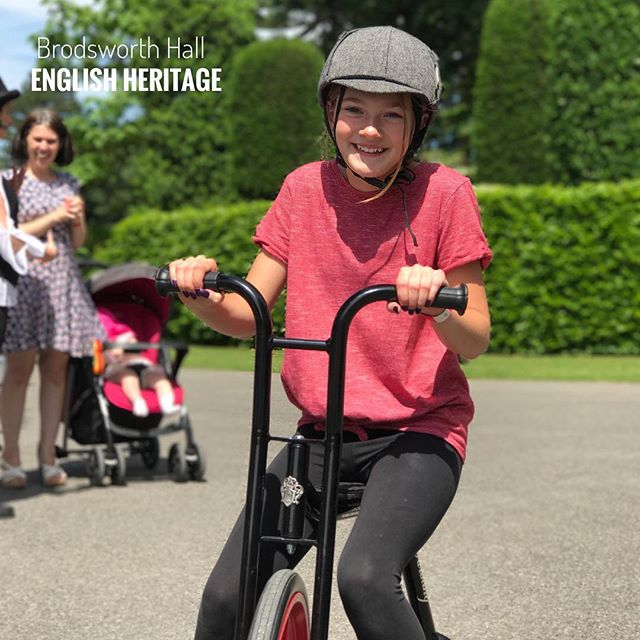 The fun started early at Brodsworth Hall and the English Heritage.jpg