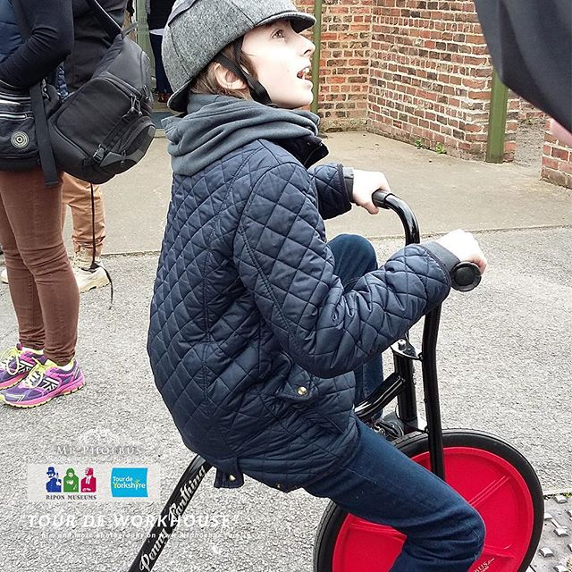 """Delighted that so many people of Ripon enjoyed the """"Tour de Workhouse"""" at the Ripon Museum yesterday, and Mr Phoebus and my fabulous assista.jpg"""