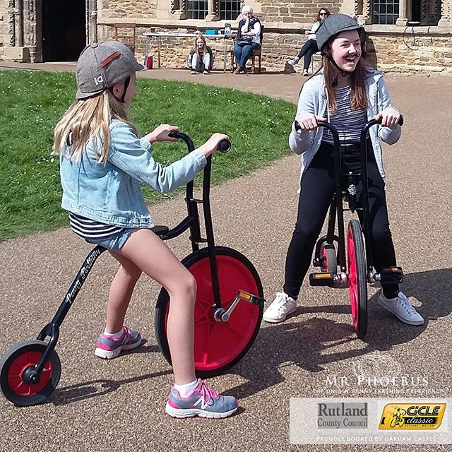 These girls had a superb time on our little penny farthing bikes🌟 The sun kept shining through the clouds on a beautiful day in Rutland and_.jpg