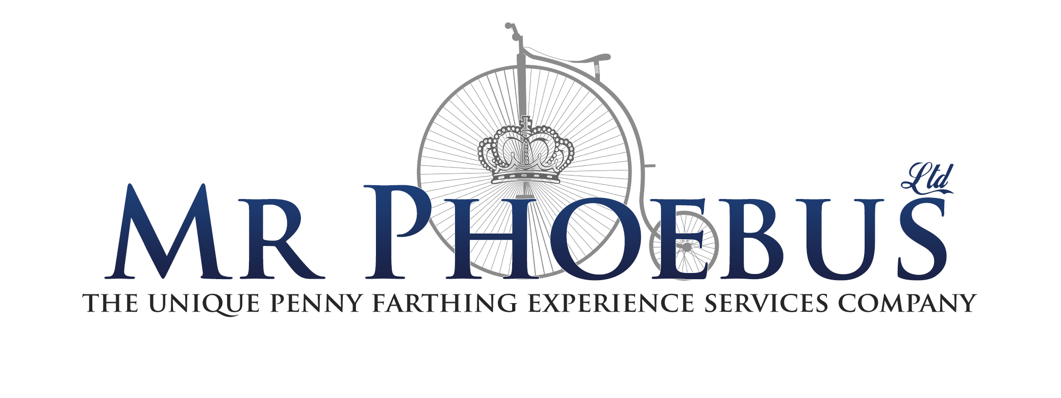 Penny Farthing for Events Company with Mr Phoebus