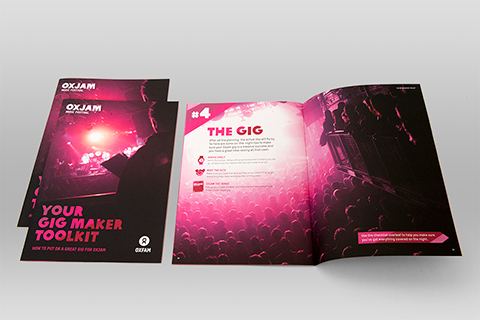 Charity Printed Brochures