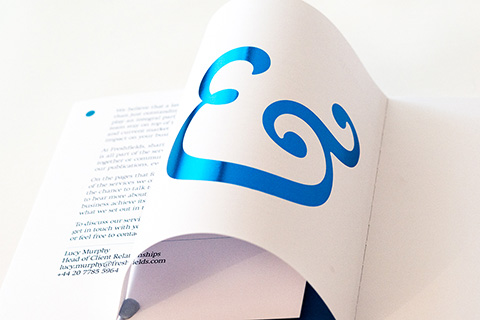 Blue Foil Book