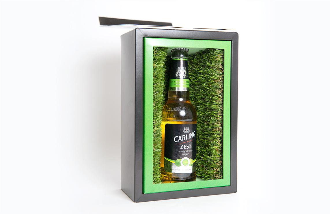 Carling presentation box