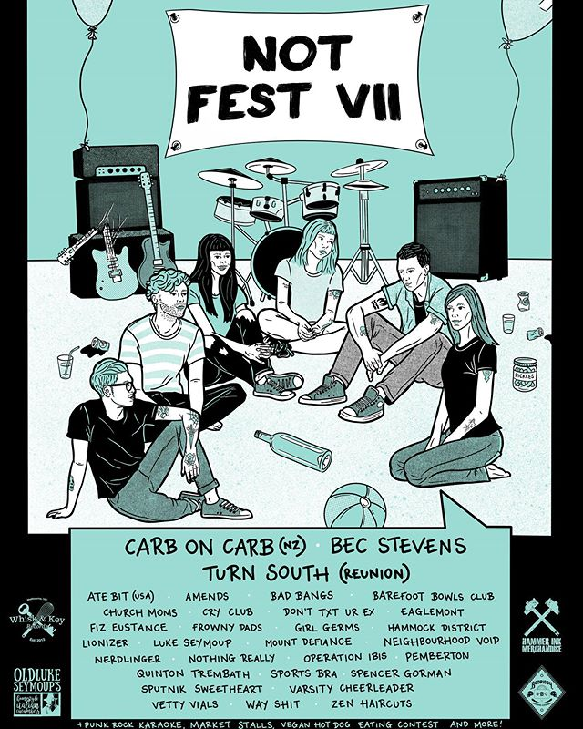 ⚡️ @sptnkswthrt are playing the incredibly wholesome Not Fest VII this November in Melbourne 🥰