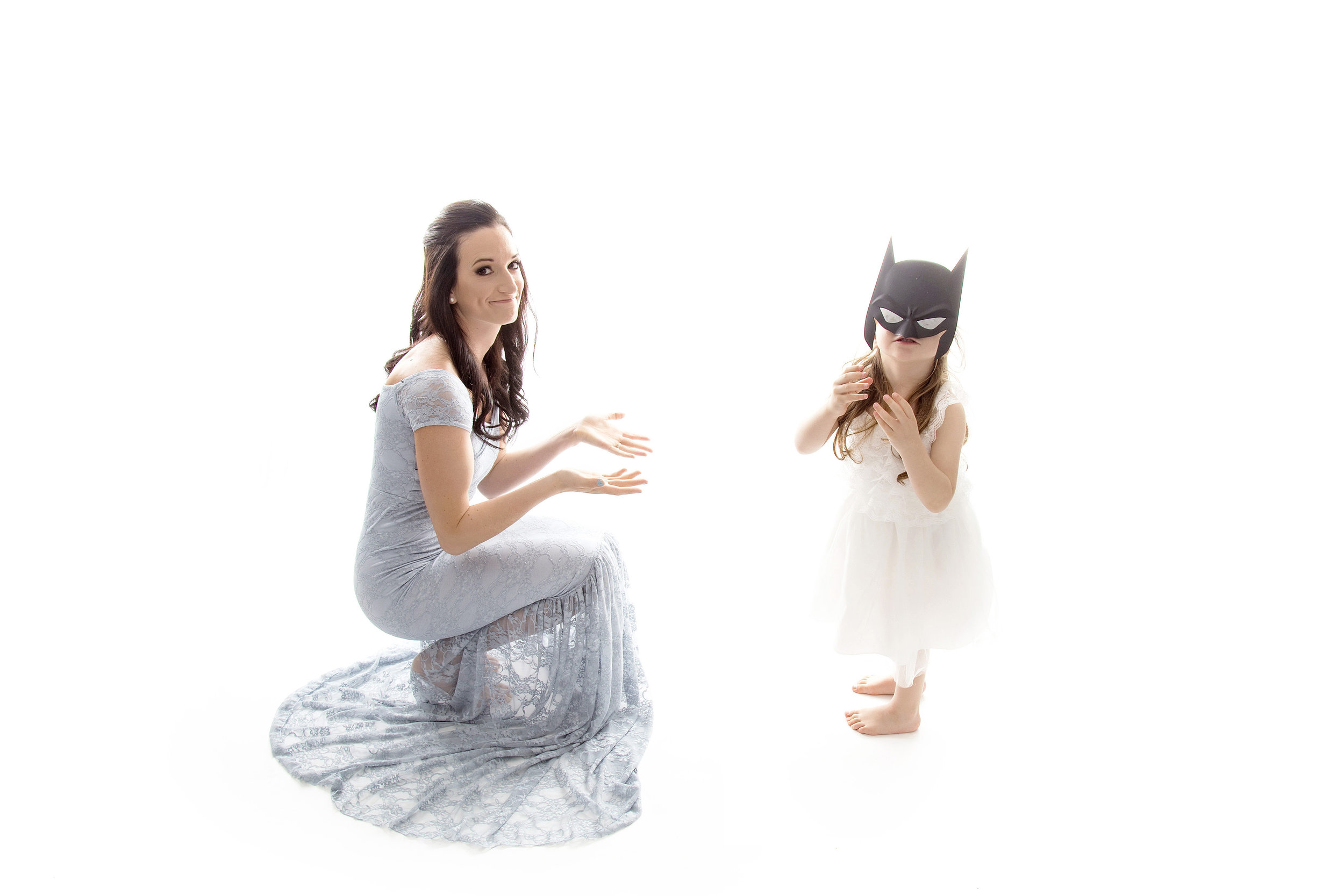 This one is from our 2018 Mommy & Me {Dream Lighting} Event. I love everything about this image because Keana is such a sweet and spunky little girl. When she picked up the batman mask, we just rolled with it and I absolutely adore this!