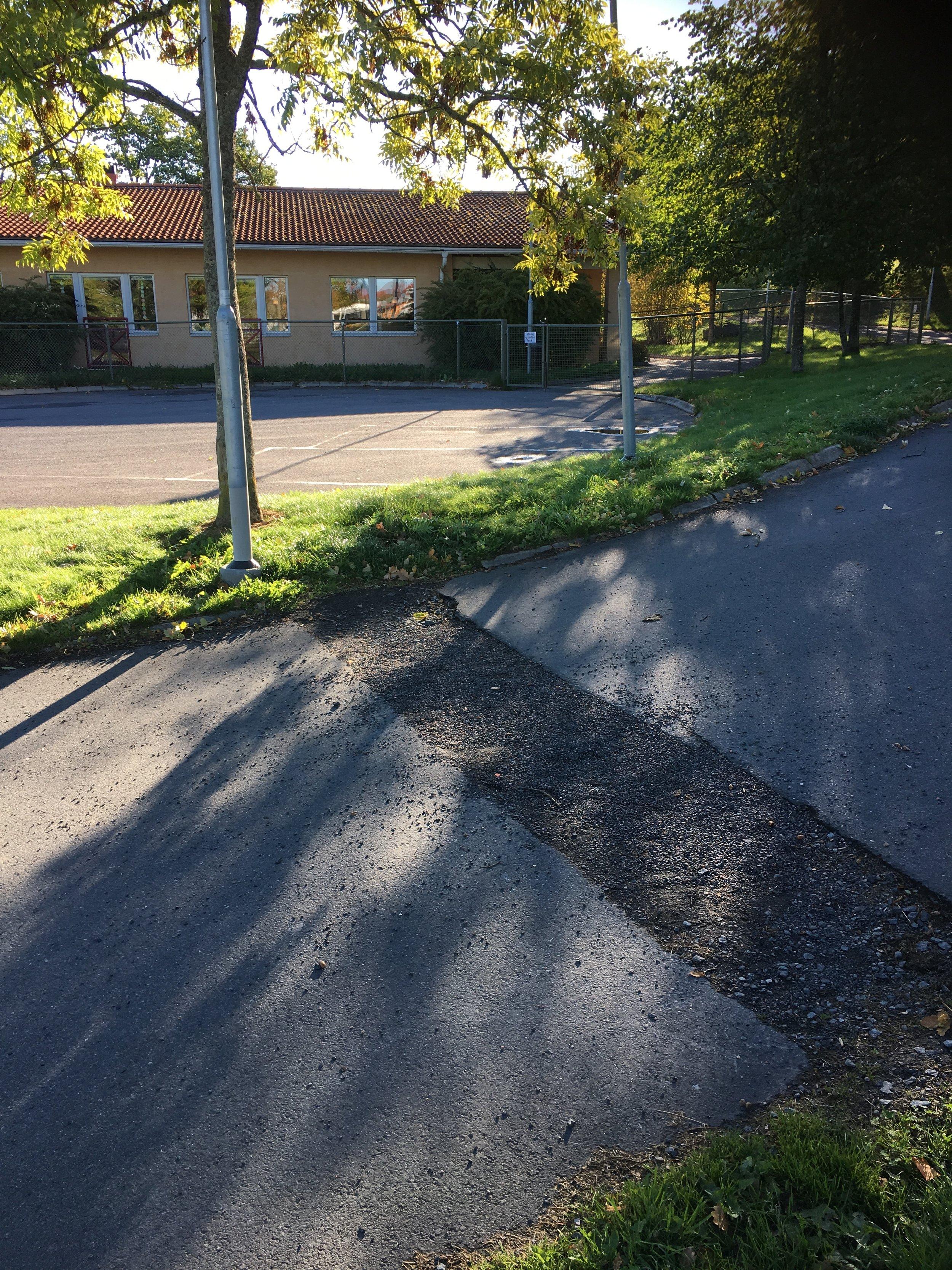 Asfalt i Småland - Asfaltslagning.JPG