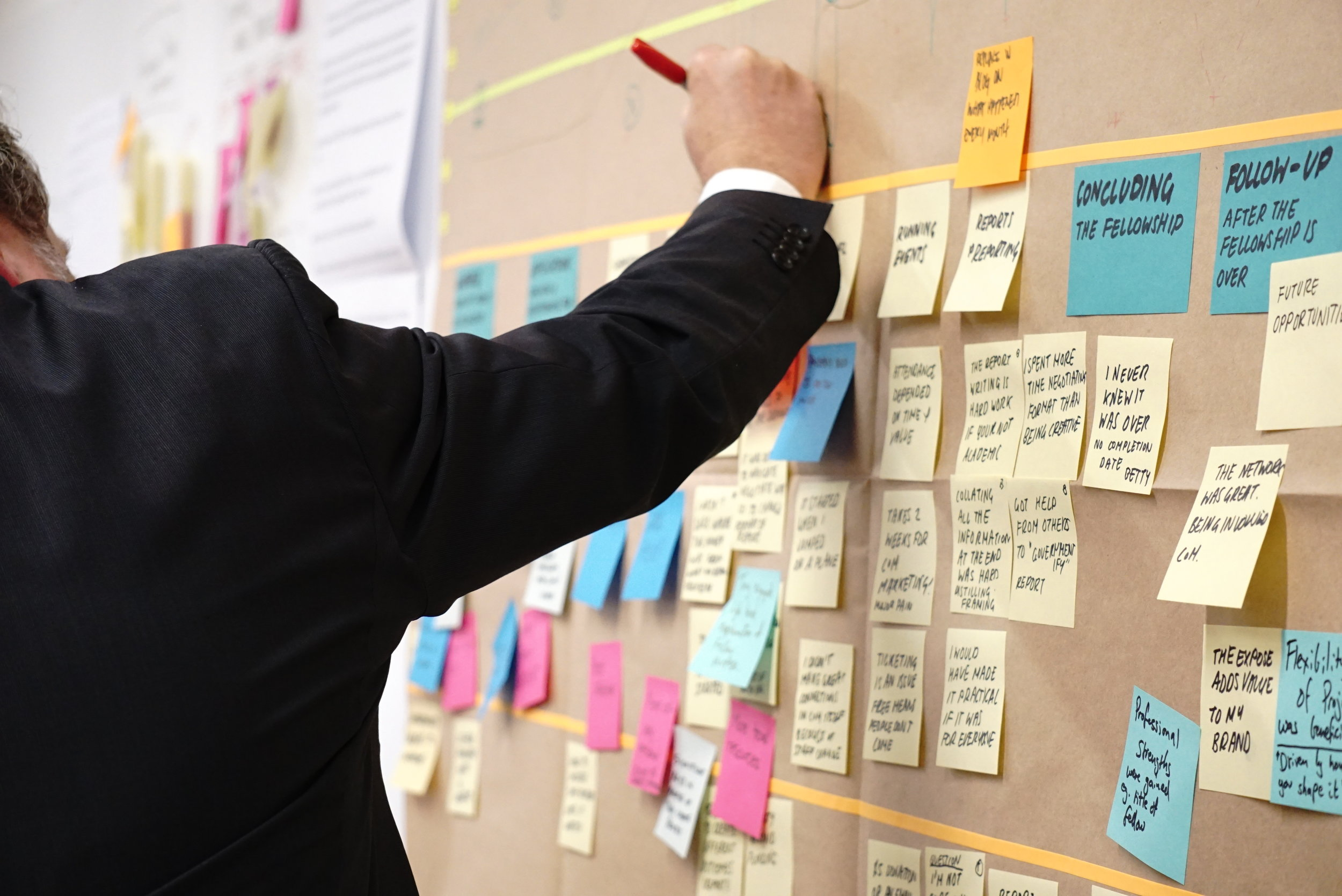 Why Projects Fail (and how to avoid it) - Using my own experience and some high profile successes and failures, I look at why projects typically fail and how to avoid those traps. I talk about over-optimistic forecasting, scope creep, management control, change management, communication and stakeholder management.Optional Exercise: I work with groups to define a project and then look at how it might succeed or fail.