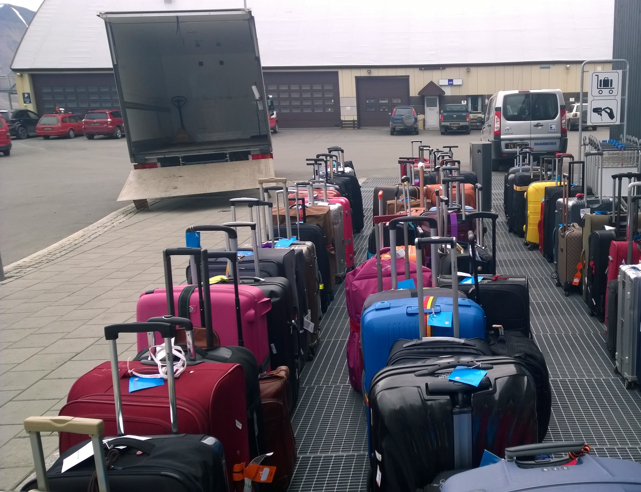 Luggage transportation