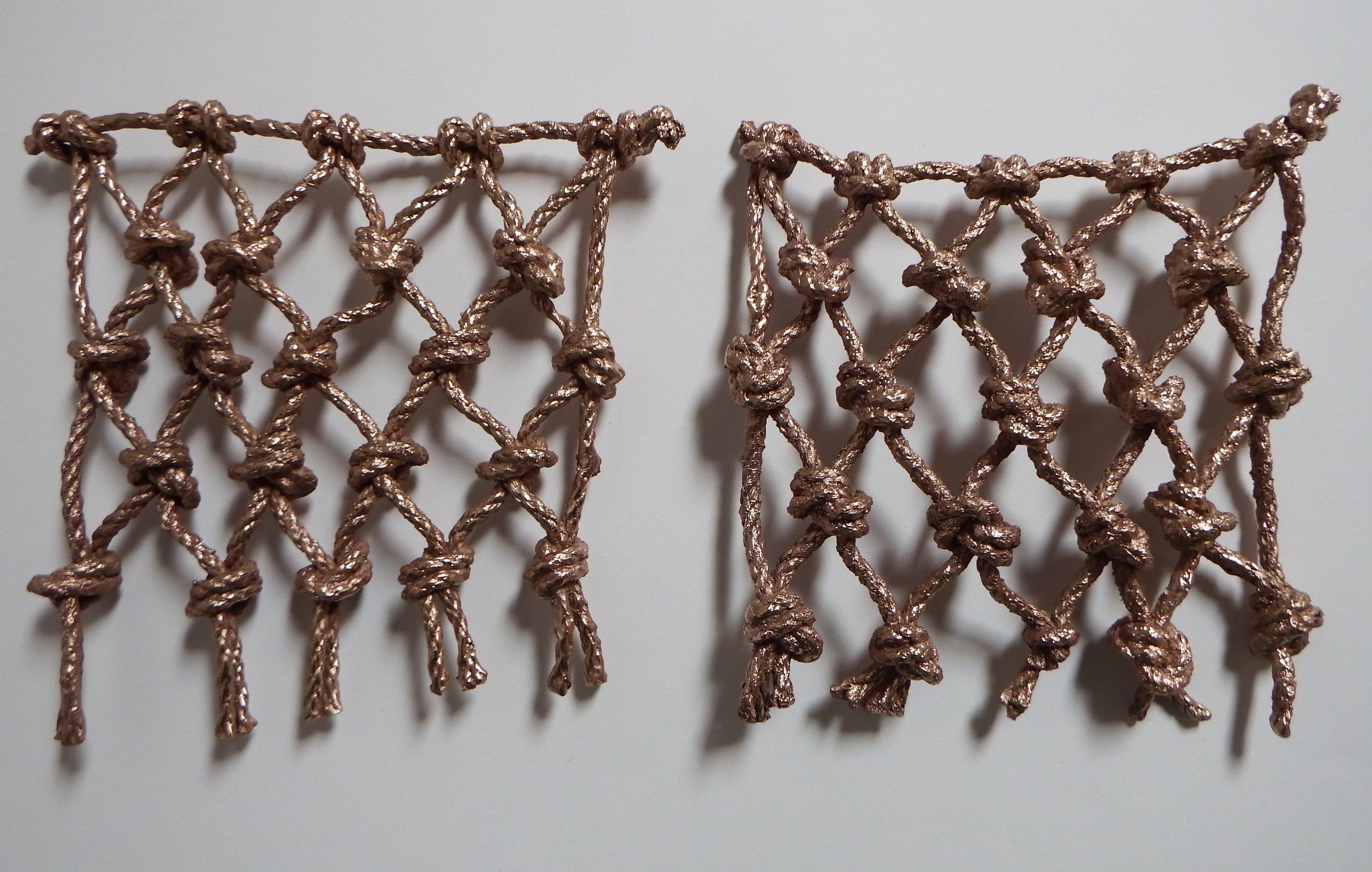 Fair Isle + Korpo Nets (before natural patina)