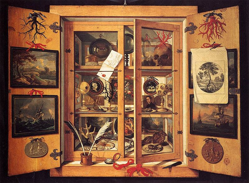 'Cabinet of Curiosities' by Domenico Remps, 1690s