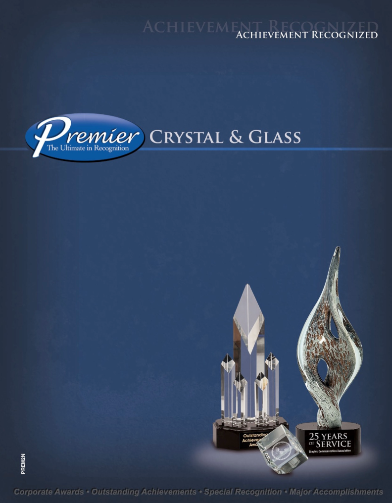 CLICK TO BROWSE OUR PREMIER CRYSTAL & GLASS AWARDS SELECTION