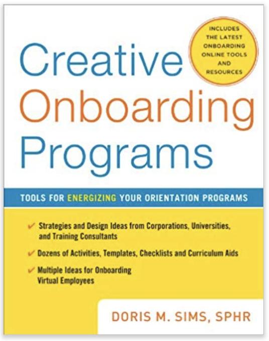 Creative Onboarding Programs . 2010, contributor