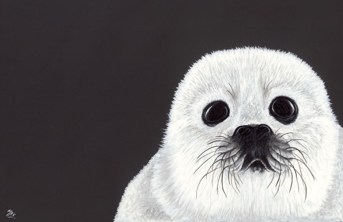 """Snowflake'  Original Framed - £100  Image 28 x 19 cm  Signed Print £15"