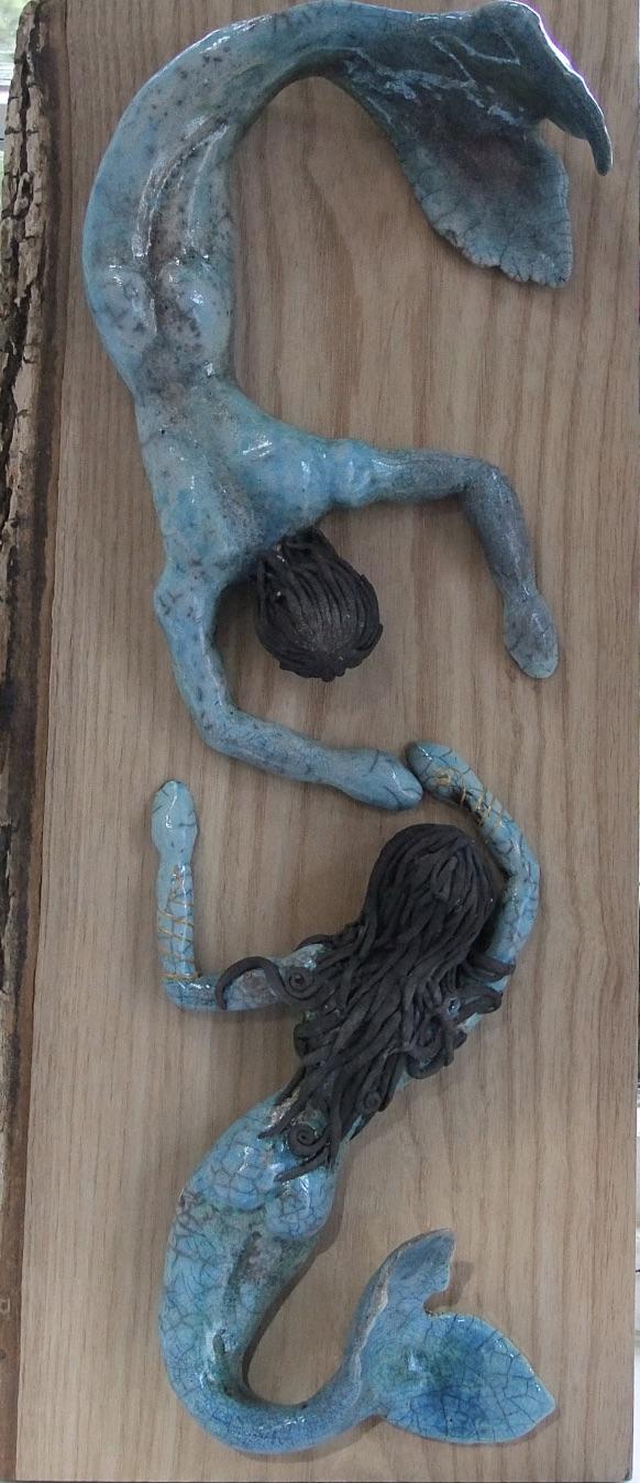 """The Mermaid of Zennor""   Turquoise Glaze"