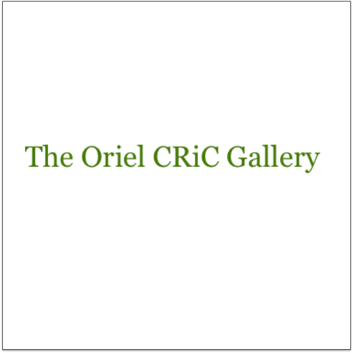 The Oriel CRiC Gallery  Crickhowell, Powys, Wales