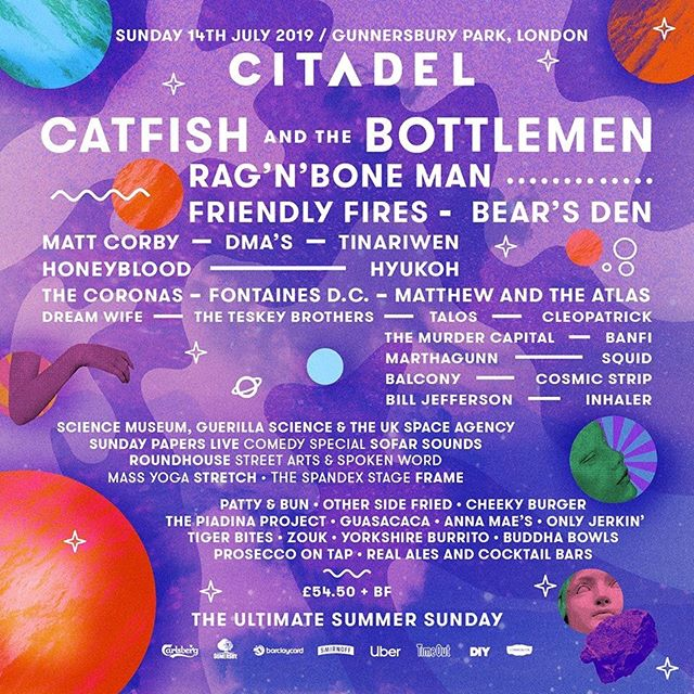 Hiya @citadelfestival 👋 can't wait to be back ✨