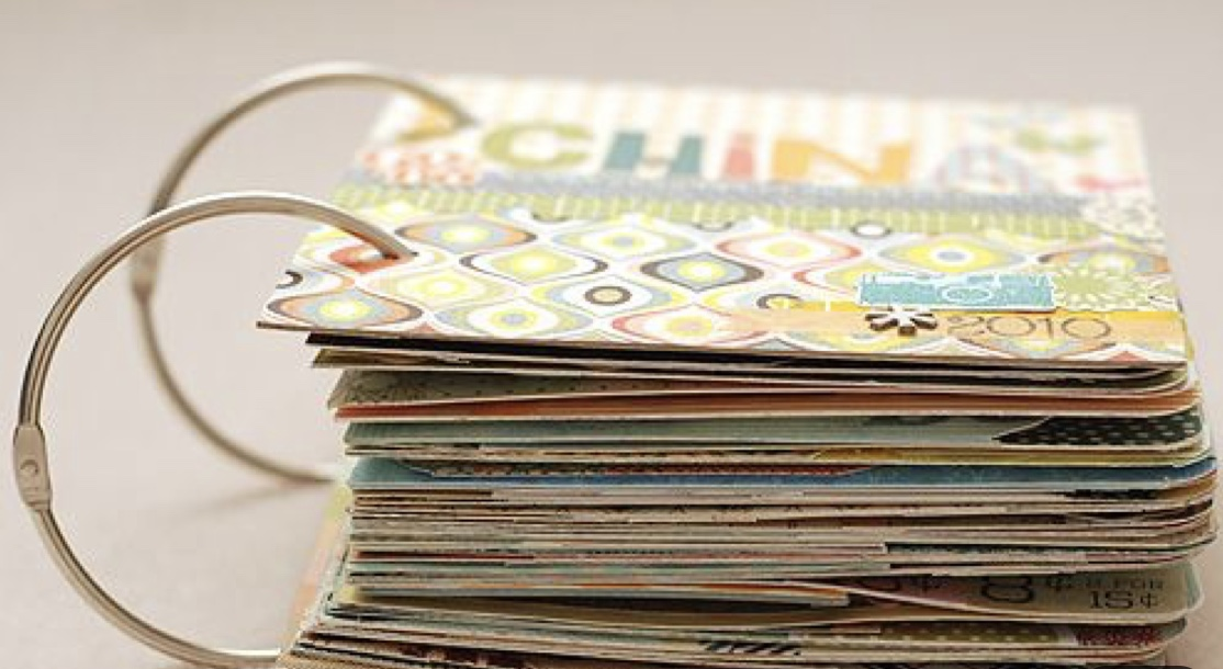 DIY card book - This requires a little bit of effort and work but is a really cute and fun idea. It also makes a great gift for your loved one or kids! There are plenty of DIY card book guidelines on Pinterest.