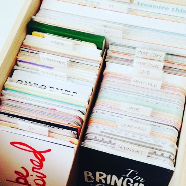"Recently a friend 😊 messaged me and asked ""ok help! My major issue at 🏡 is how to store greeting cards! They add up so fast! Just throw them in a nice box from homesense? I feel like they should be sorted... by occasion and years?"" 🖊  Casa Nessa is here to help! 😃 Check out the link in my bio for some fun and creative ways of organizing those special cards! 🎂 👰 🍼"