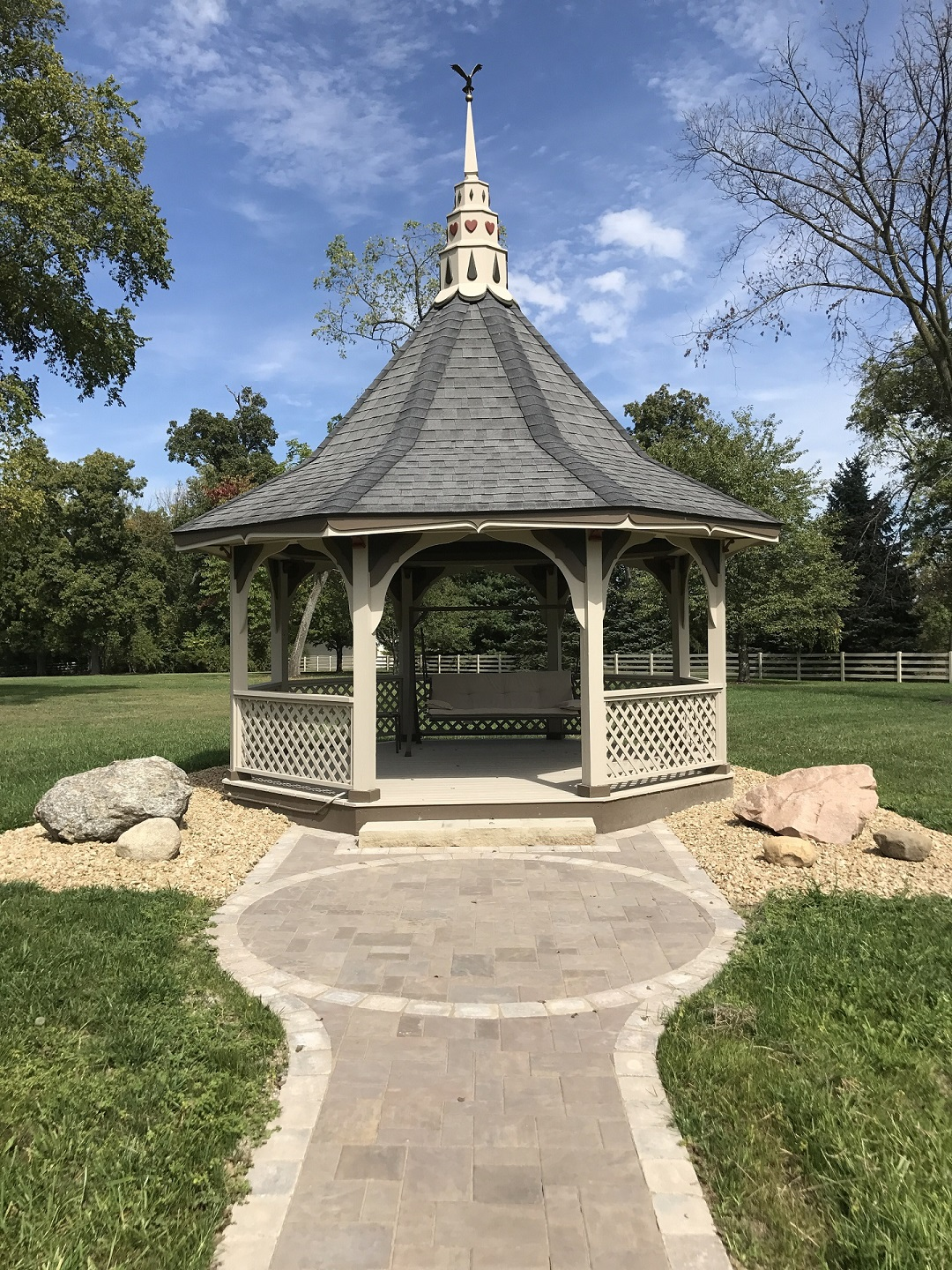 West Chester, OH landscape design and installation