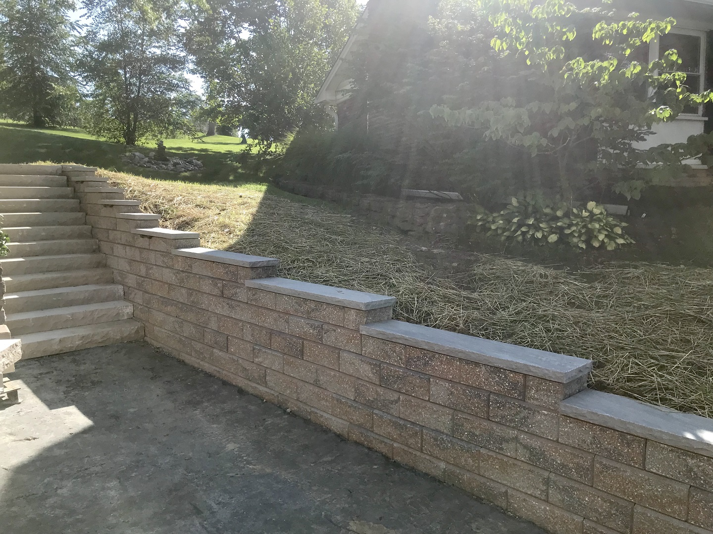 West Chester, Ohio top landscape installation for retaining walls
