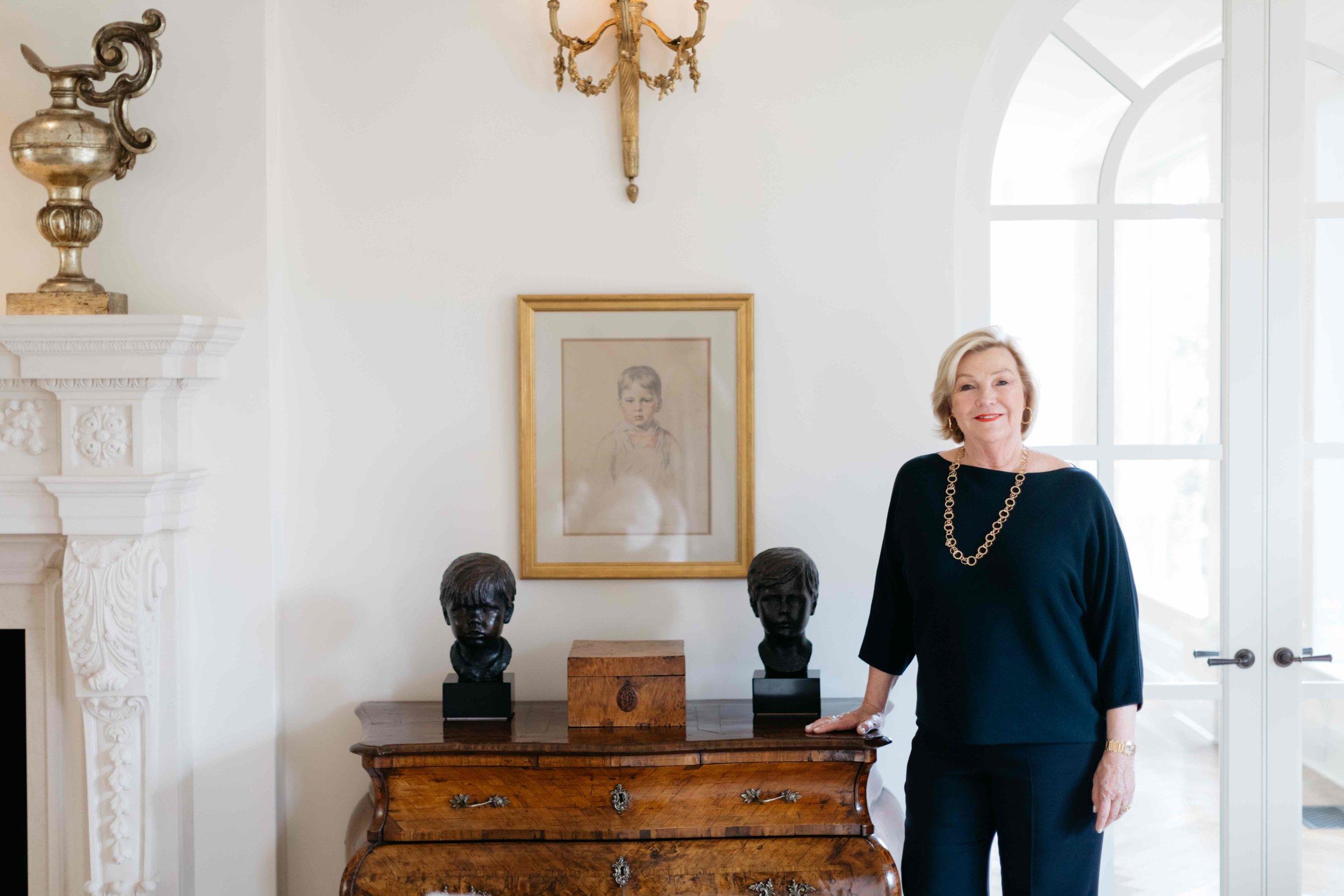 PURE member Perri Harcourt at her home in Santa Barbara, California.