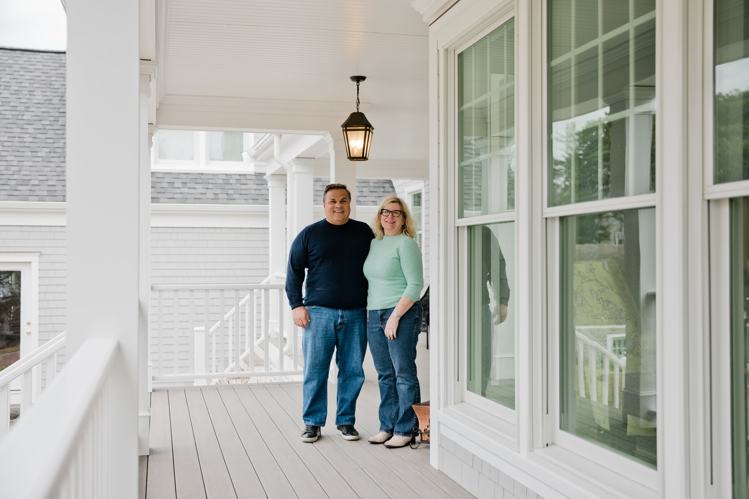 PURE members Mike and Terry Caccavale at their home in Chatham, Massachusetts.
