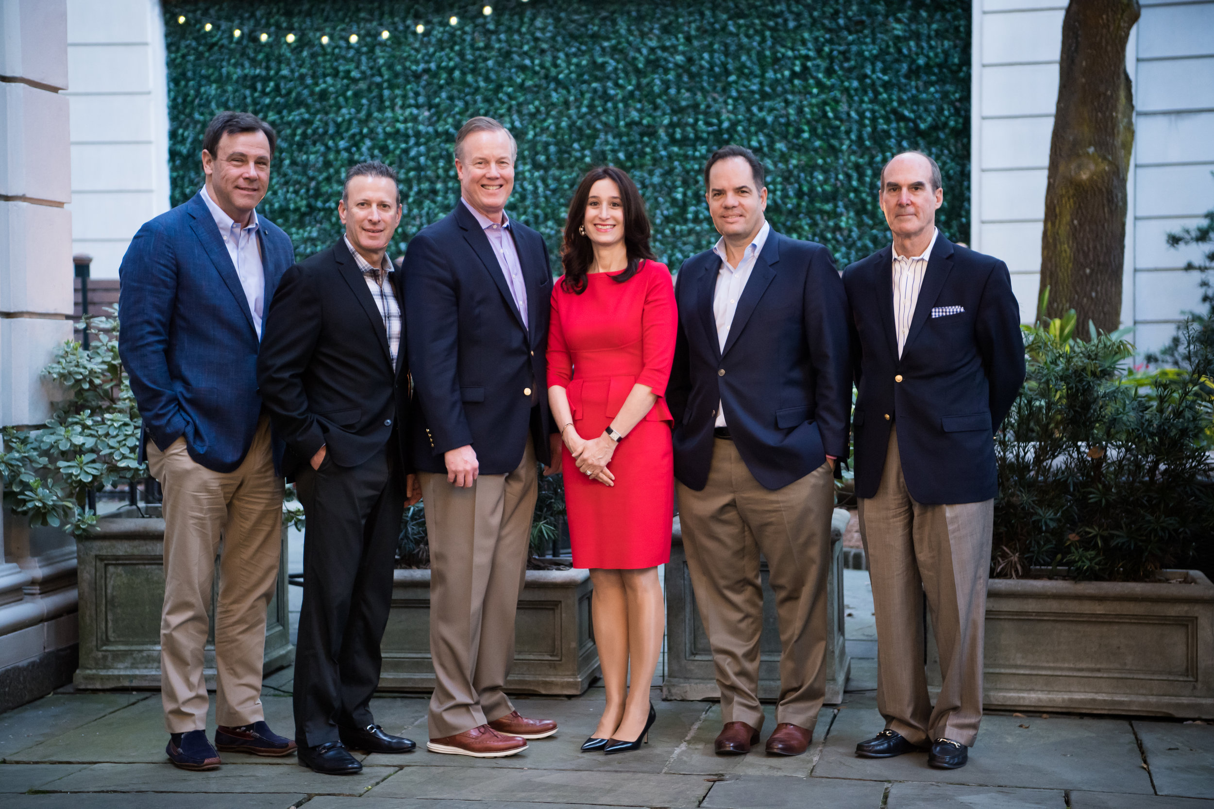 PURE's Subscribers' Advisory Committee. From left: Richard Jacobs, Douglas Fields, William W. Wilson III, Jodi Lash (Chair), Ross Buchmueller, and James H. McLaughlin. Missing from the photo is Joey Cummings. For additional information and bios, visit    pureinsurance.com/sac   . To contact the SAC, email    sac@pureinsurance.com   .